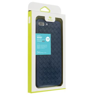 Benks чехол для iPhone 7 Plus/8 Plus серия Weaveit - синий, фото №1