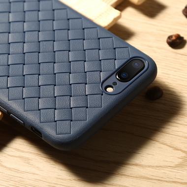 Benks чехол для iPhone 7 Plus/8 Plus серия Weaveit - синий, фото №3