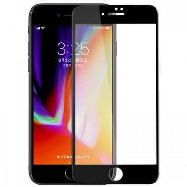 Benks Защитное стекло для iPhone 7Plus - черное 3D XPRO 0,23мм, фото №9