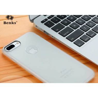 Benks белый чехол для iPhone 7/8 Skin, фото №1