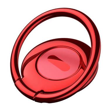 Baseus Symbol Ring Bracket - красный держатель на палец, фото №1