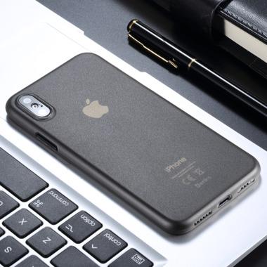 Benks Чехол для iPhone XS/X 5,8 - LolliPop черный полупрозрачный, фото №3