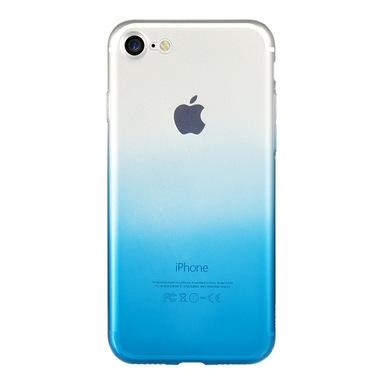 Benks градиентный чехол на iPhone 7/8 - голубой, фото №1