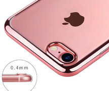 Benks чехол для iPhone 7/8 Electroplating Розовый - фото 1