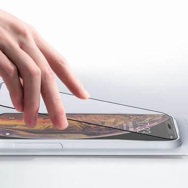 Benks VPro защитное стекло на iPhone XS Max с аппликатором, фото №1