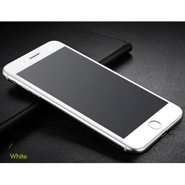 Benks Защитное стекло на iPhone 6 Plus/6S Plus белая рамка 3D King Kong, фото №1