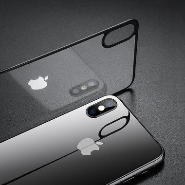 Benks Защитное стекло на заднюю панель iPhone XS Max - Gray, фото №2