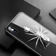 Benks Защитное стекло на заднюю панель iPhone XS Max - Gray