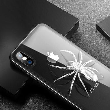 Benks Защитное стекло на заднюю панель iPhone XS Max - Gray, фото №1
