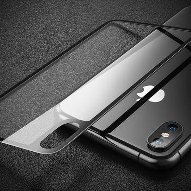 Benks Защитное стекло на заднюю панель iPhone XS Max - Gray, фото №4
