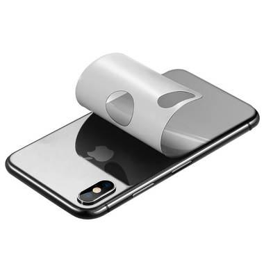 Benks Защитная пленка на заднюю панель iPhone X/XS - Silver, фото №1