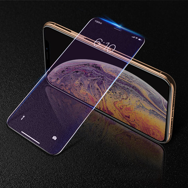 Benks KR Защитное стекло на iPhone Xr/11 - 0.15 мм Anti Blue Light, фото №3
