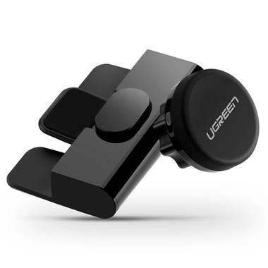 Держатель для телефона в CD дисковод LP129 - черный, фото №1