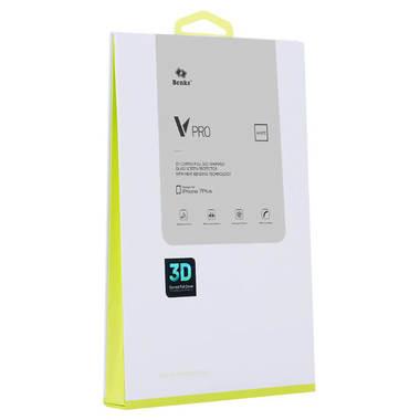 Benks Защитное стекло для iPhone 7P/8P Белое VPro, фото №1