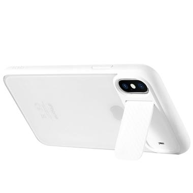 Benks чехол для iPhone X - белый с подставкой Mochi, фото №1