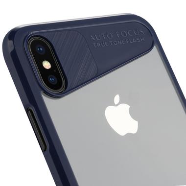 Benks Чехол для iPhone X - синий Mochi, фото №3