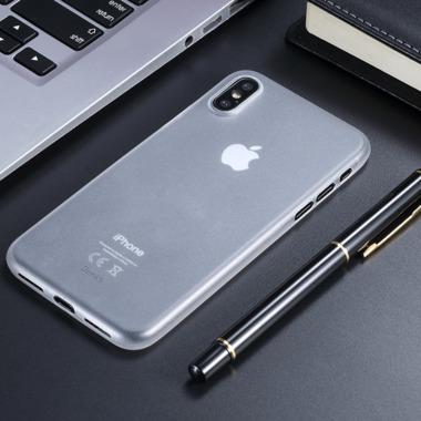 "Benks Чехол для iPhone XS Max 6,5"" - LolliPop белый полупрозрачный, фото №1"