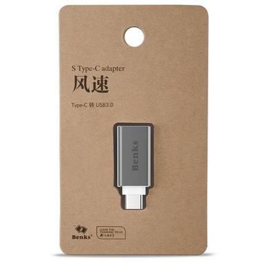 Адаптер Type C на USB 3.0 - Серый, фото №2