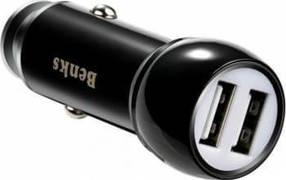 Benks Зарядка для телефона в прикуриватель - фото 1