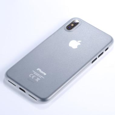 "Benks Чехол для iPhone XS Max 6,5"" - LolliPop белый полупрозрачный, фото №2"