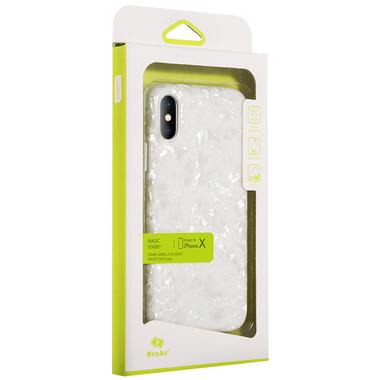 Benks чехол для iPhone X белый Starry, фото №1