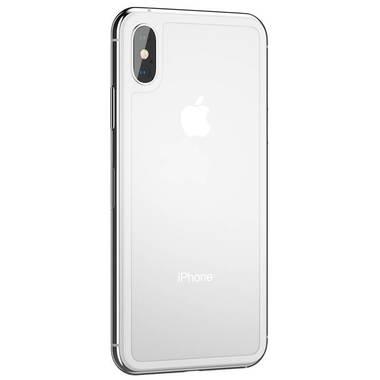 Защитное стекло на заднюю панель iPhone XS Max - Silver, фото №3