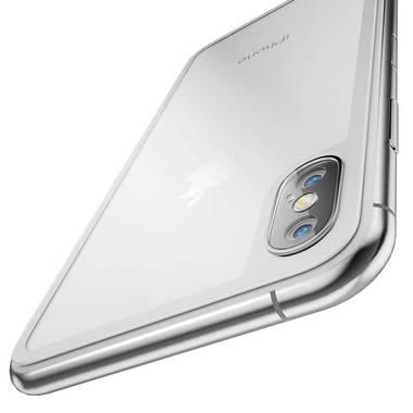 Защитное стекло на заднюю панель iPhone XS Max - Silver, фото №2