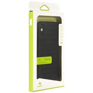 Benks чехол для iPhone X серия Weaveit - черный, фото №2
