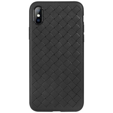 Benks чехол для iPhone X серия Weaveit - черный, фото №1