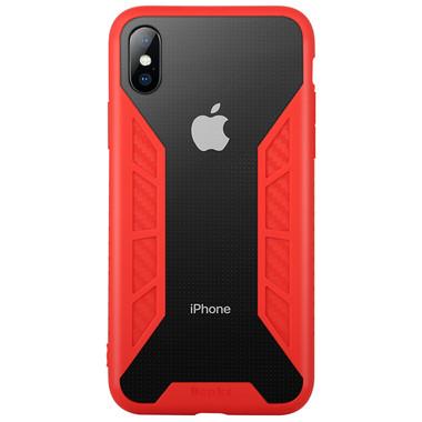 Benks Чехол для iPhone X - красный Future, фото №1