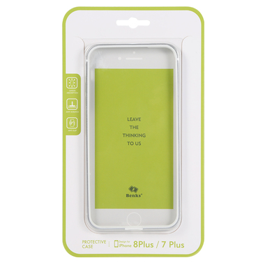 Benks бампер для iPhone 7 Plus | 8 Plus серия Aegis - белый, фото №3