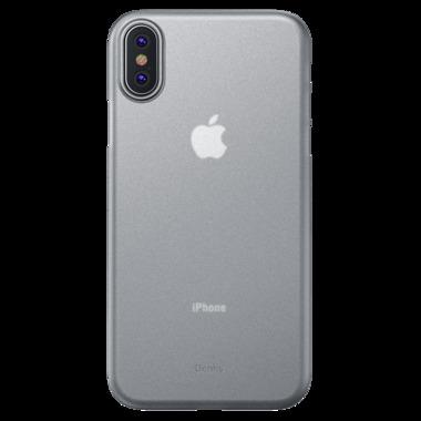 Benks Чехол для iPhone X/XS 5.8 - LolliPop белый прозрачный, фото №2