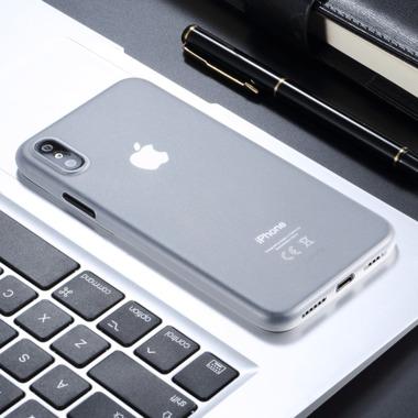 Benks Чехол для iPhone X/XS 5.8 - LolliPop белый прозрачный, фото №1