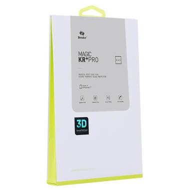 Benks матовое защитное стекло для iPhone 7/8 - черное, фото №4