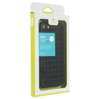 Benks чехол для iPhone 7/8 серия Weaveit - черный, фото №2