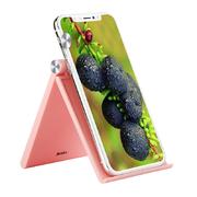 Настольная подставка для телефона - розовая