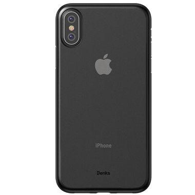 Benks Чехол для iPhone XS Max - Черный полупрозрачный LolliPop, фото №1