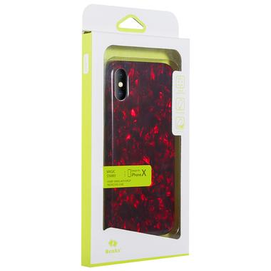 Benks чехол для iPhone X красный Starry, фото №1