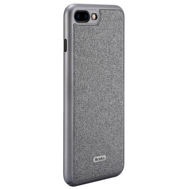 Benks чехол для iPhone 7 Plus | 8 Plus - серебряный Brownie, фото №2