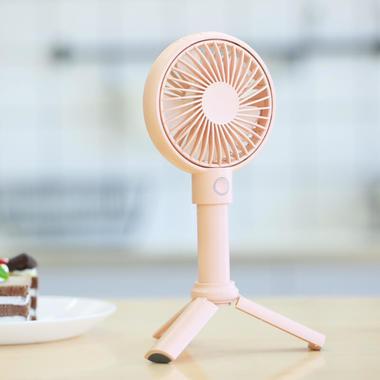 Benks портативный ручной вентилятор - розовый, фото №1