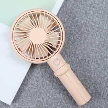 Benks портативный ручной вентилятор - розовый, фото №3