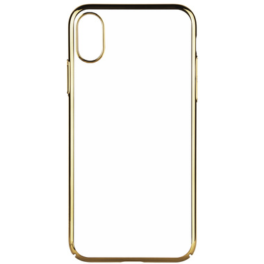 Benks чехол для iPhone X - золотой цвет рамки Pure, фото №2