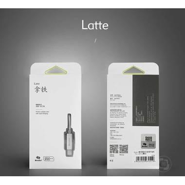 USB-Latte ligtning кабель для iPhone, фото №1