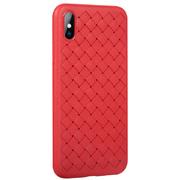 Benks чехол для iPhone X серия Weaveit - красный