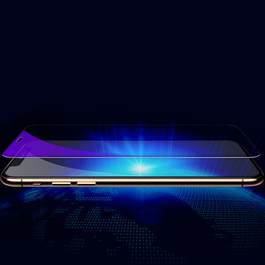 Benks OKR+ Защитное стекло для iPhone Xs Max/11 Pro Max - 0,3 мм Anti Blue, фото №6