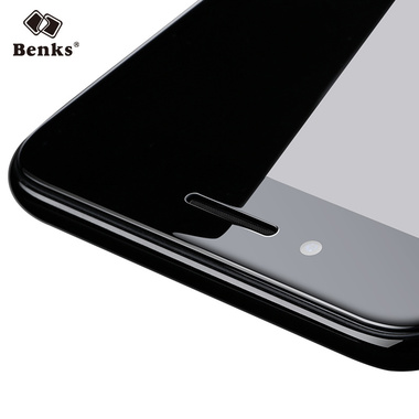 Benks Защитное стекло на iPhone 7/8 King Kong 3D Черное, фото №1