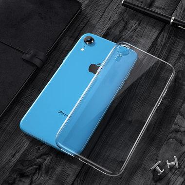 Чехол для iPhone XR Crystal Clear - Прозрачный, фото №3