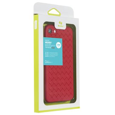 Benks чехол для iPhone 7/8 серия Weaveit - красный, фото №1