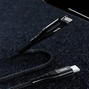 Type C - Lightning MFI кабель черный 0,25 м - M11