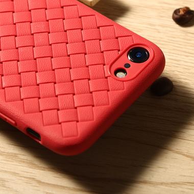 Benks чехол для iPhone 7/8 серия Weaveit - красный, фото №3